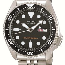 Seiko SKX007K2 Steel 2019 Prospex 42mm new