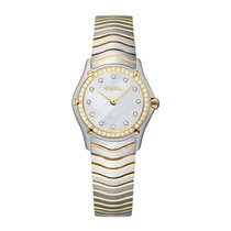 Ebel Classic Gold/Steel 23mm Mother of pearl United States of America, Virginia, ARLINGTON