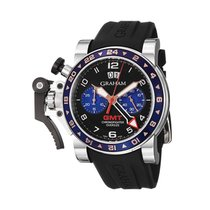 Graham Chronofighter Oversize 2OVGS.B26A pre-owned