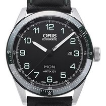 Oris Calobra Steel 44mm Black