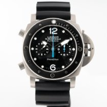 Panerai Luminor Submersible 1950 3 Days Automatic Titanium 47mm Black Arabic numerals United States of America, Massachusetts, Boston