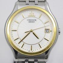 Seiko Credor Сталь 34mm Белый