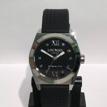 Locman Steel 33mm Quartz 0204A01A-00BKNKSK new