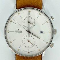 Junghans FORM C gebraucht 40mm Chronograph Datum Leder