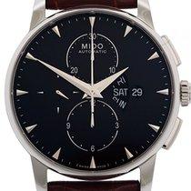 Mido Baroncelli Chronograph Steel 42mm Black