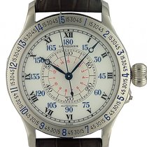 Longines Lindbergh Hour Angle Watch Stahl Automatik 48mm