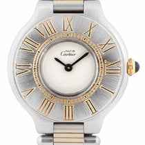 Cartier Must De Cartier Steel & 18ct Yellow Gold W1050