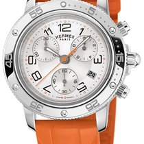 Hermès Clipper Chrono Quartz GM 36mm 036081WW00