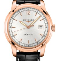 Longines Saint-Imier Rose gold 41mm Silver United States of America, New York, Airmont