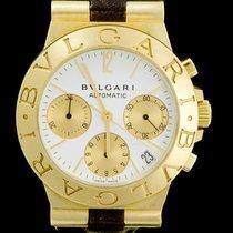 Bulgari Diagono Chronograph Gold CH 35 G   Référence de montre ... 0d5f170327d