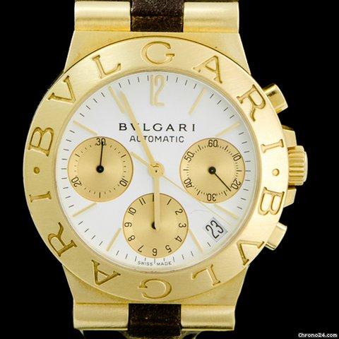 Montres Bulgari Or jaune - Afficher le prix des montres Bulgari Or jaune  sur Chrono24 c3a97ae9a73