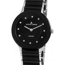 Jacques Lemans High Tech Ceramic Dublin Steel 32mm Black