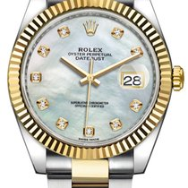 Rolex Datejust 41mm Steel and Yellow Gold 126333 White MOP...