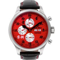 Ernst Benz Chronograph 47mm Automatic 2017 new Red