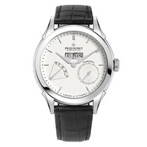 Pequignet 42mm new Rue Royale White