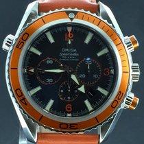 Omega Seamaster Planet Ocean Chronograph Orange 45MM Full Set...