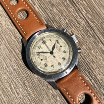 Gallet Vintage Gallet Flying Officer Clamshell Chronograph...