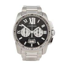Cartier Calibre de Cartier Chronograph usados 42mm Acero