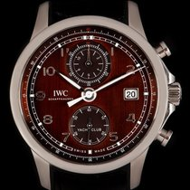 IWC Portuguese Yacht Club Chronograph pre-owned 43.5mm Steel