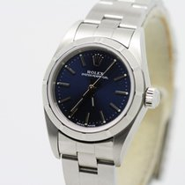 Rolex Oyster Perpetual (Submodel) pre-owned 24mm Steel