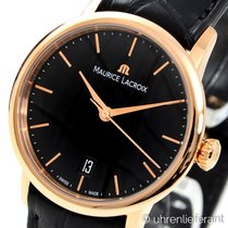 Maurice Lacroix Les Classiques Tradition Red gold 28mm Black No numerals