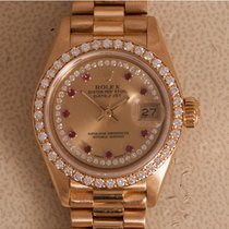 Rolex Lady-Datejust tweedehands 26mm Geelgoud