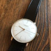 Junghans max bill Automatic gebraucht 38mm Stahl