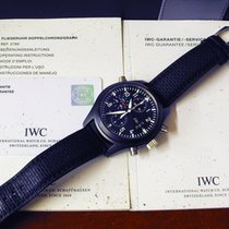 IWC Pilot Double Chronograph Ceramica 44mm Nero Arabo Italia, Pinerolo