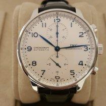 IWC Cronografo 41mm Automatico 2010 usato Portuguese Chronograph Bianco