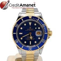 Rolex Submariner Date folosit 40mm Aur/Otel