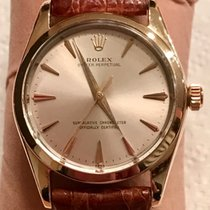 Rolex Oyster Perpetual Ouro/Aço 34mm