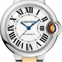 Cartier Ballon Bleu 33mm Gold/Steel Silver