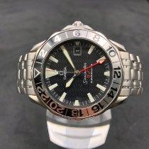 Omega Seamaster Diver 300 M Steel 41mm Black No numerals