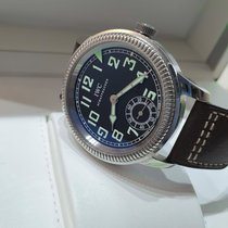 IWC Pilot Steel 44mm Black Arabic numerals