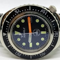 Squale Steel Automatic Black 43mm pre-owned