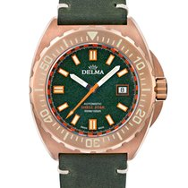 Delma Bronze 44mm Automatic 31601.670.6.148 new
