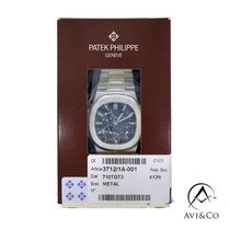 Patek Philippe Nautilus Steel 39mm Blue No numerals