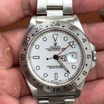 勞力士 Explorer II 鋼 40mm 白色 無數字 香港, 0000000000000