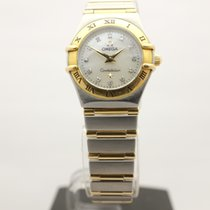 Omega Constellation Ladies Gold/Steel 22mm Mother of pearl Canada, Montreal