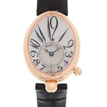 Breguet 8918BR/58/964/D00D Rose gold Reine de Naples 28.5mm new
