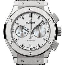 Hublot Classic Fusion Chronograph Titan 42mm Silber Keine Ziffern Deutschland, Berlin