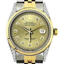 Rolex Datejust Acero y oro 36mm Champán