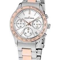 Jacques Lemans 1-1587ZI Rome Chronograph Damen 37mm 10ATM