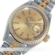 ロレックス (Rolex) Oyster Perpetual Date Stahl / Gold 6917
