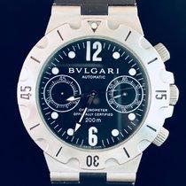 Bulgari Diagono Scuba Chronograph Automatic Steel / SCB38S - MINT