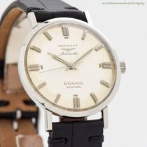Longines Admiral Steel 33mm Silver No numerals United States of America, California, Beverly Hills