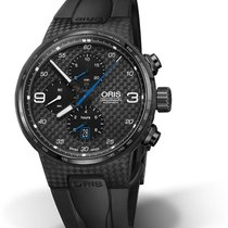 Oris Williams F1 Tytan 44mm Czarny Bez cyfr