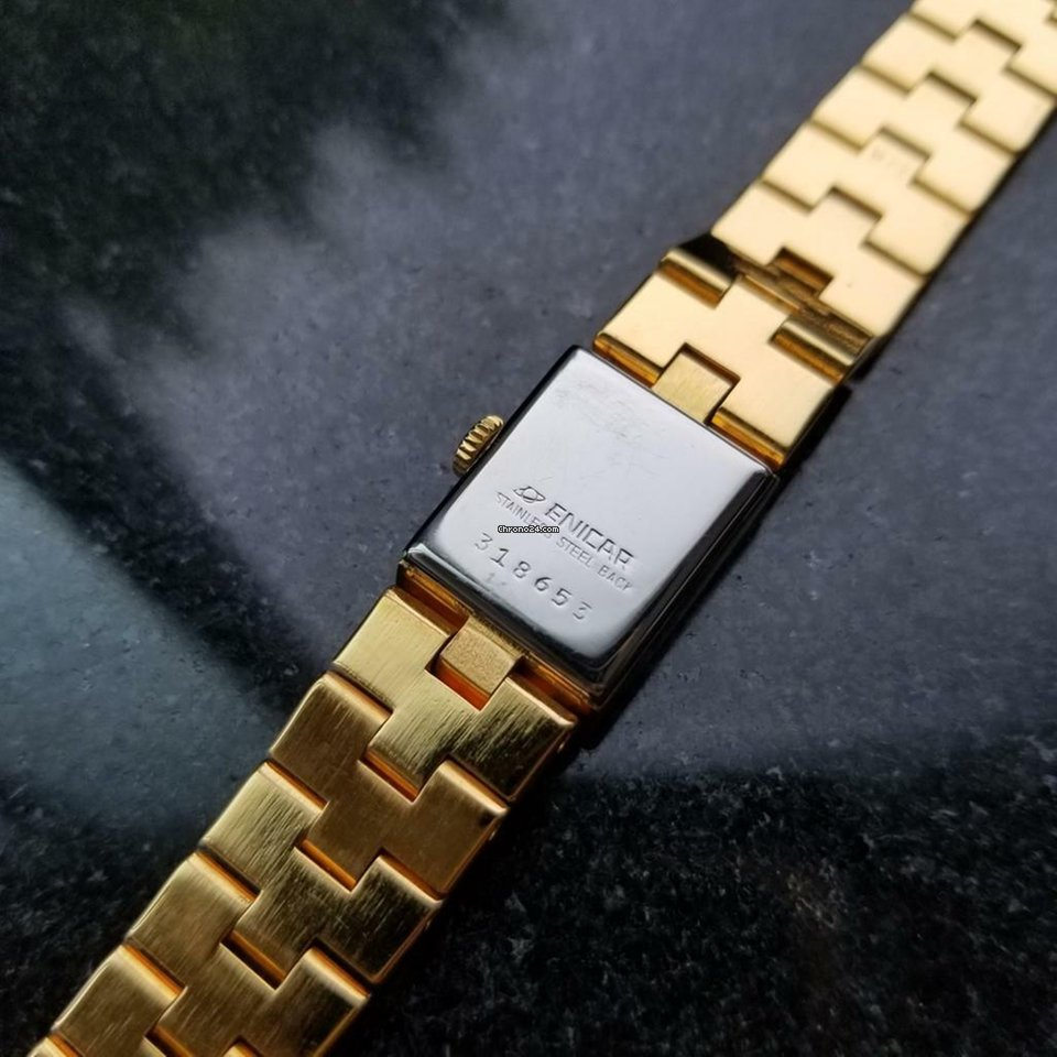 4909eaf51 Enicar Ladies Gold-Plated Cocktail Dress Watch c.1960s Vintage... for S$  769 for sale from a Trusted Seller on Chrono24