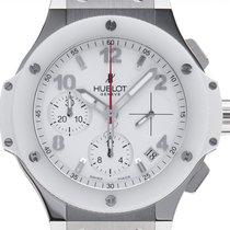Hublot Big Bang 41 mm Stahl 41mm Weiß