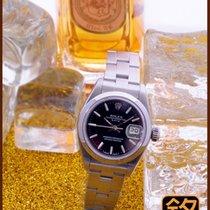 勞力士 Oyster Perpetual Lady Date 鋼 26mm 白色
